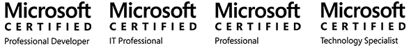 Microsoft 技術支援-MCPD,MCITP,MCP,MCTS